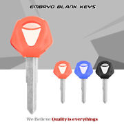 Replacement Motorcycle Blank Key Uncut Blade For Yamaha Yzf R1 R6 Mt09 Mt10 Mt07