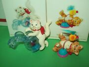 Hallmark Lot Mischievous Kittens 13th 14th Fish Bowl And Toy 2011-12 Ornaments