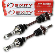 Can-am Front Left And Right Cv Axles 500 650 Outlander Max 800r Renegade 800 Vm