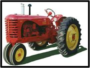 Massey Harris Tractors New Metal Sign Model 44 Featured Large Size 12 X 16