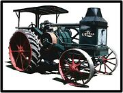 Advance Rumely Oil Pull Tractor Collectible Metal Sign Large Size 12 X 16