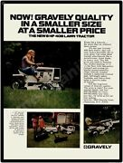 1971 Gravely Model 408 Lawn Mowers Garden Tractors New Metal Sign Clemmons Nc