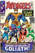 Avengers 28 Captain America 1st Hank Pym Becomes Goliath 1st Collector Key