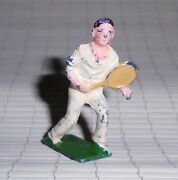 Johillco John Hill And Co Vintage Lead Man Tennis Player Ex Cond Free Ship