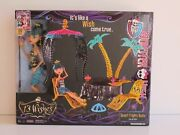 Monster High 13 Wishes Desert Frights Oasis Playset With Cleo Doll New In Box