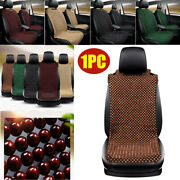 Natural Wooden Beaded Car Suv Seat Cover Support Massage Pad Cushion Chair Cover