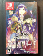 Rezero Starting Life In Another World The Prophecy Of The Throne D1 Switch New