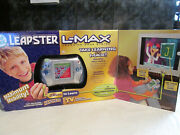 Leap Frog Leapster L-max Handheld Console New Sealed