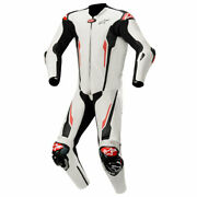 Alpinestars Racing Absolute Tech-air Compatible One Piece Suit White / Black