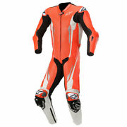 Alpinestars Racing Absolute Tech-air Compatible 1 Piece Suit Red / White / Black