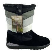 Bearpaw Boreal 2525w Womenand039s Black Never Wet Winter Boots Size 9 M