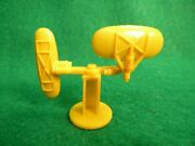 Vintage Marx Operation Moon Base Dual Directional Antenna In Yellow