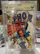 Thor 337 Cbcs 9.8 Newsstand Signed By Jim Shooter. 1st Beta Ray Bill White Pages