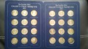 Franklin Mint Gallery Of Great Americans 1970-71 Coins Sterling Silver Proof Se