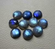Natural Labradorite Gemstones Round Rose Cut Size In 16mm To 20mm Aaa Quality