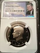 1979-s Type 1 Kennedy Half Ngc Pf70 Ultra Cameo Rare Perfect Proof