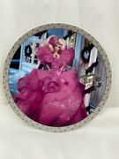 1997 Limited Edition Plate Features 1990 Happy Holidays Doll