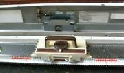 Singer- Studio- Silver Reed Bulky 9mm 150 Knitting Machine With Ribber