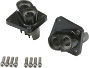 Harddrive Black Lifter Bases Tappet Blocks Front And Rear Harley Sport Glide 83-84