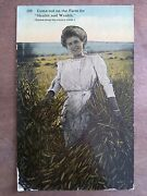 Come Out On The Farm For Health And Wealth Scenes Along The Country Roads-1914