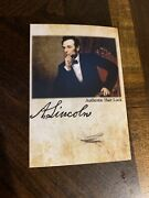 Abraham Lincoln Hair Strand Large Lock Piece Speck President Relic Display Photo