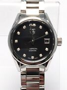Tag Heuer Carrera Automatic War2413-2 Black Dial Stainless Watch Ap1079716