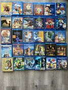 Lot Of 30 Disney Kids Blu-ray / Dvd Movies - Collectible