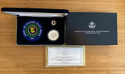 National Law Enforcement Officers Memorial Silver Dollar Proof Coin Pin And Patch