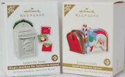 Hallmark 2010 And 2011 Letters For Santa And Letters To Santa Ornaments