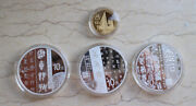 China 2018 Gold And Silver Coins Set- Chinese Calligraphy Art