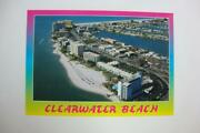 188 Clearwater Beach Florida Resort Hotels Condos Beaches Stores Postcard