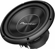 New Pioneer A-series Ts-a250d4 1300 Watts 10 Dual 4 Ohm Car Subwoofer Sub