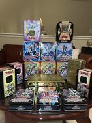 Empty Yugioh Tins Gilford, Rocket Warrior, Blade Knight And More 16 Total