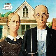 Adult Jigsaw Puzzle Grant Wood American Gothic 1000-piece Jigsaw Puzzles
