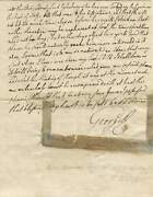 George Iii Of The United Kingdom Autograph Letter Signed