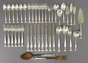 Wallace Sterling Silver Flatware Set – Romance Of The Sea