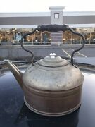 """Rare Rev O Noc Solid Copper Large Tea Kettle 12"""" Tall 12"""" Wide"""