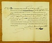 Super Rare 1800 Fine For Selling Illegal Gin At Boarding House New York