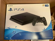 New Sony Playstation Ps4 1tb Slim Gaming Console With Variety Games Option🚛