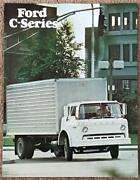 Ford C-series Usa Commercial Sales Brochure Jan 1977 Fdt-7718 1/77