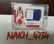 National Treasures Terance Mann Rpa Auto Patch Rc Rookie 1/1 14/75 Nt Jersey Lac