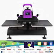 Xpressandtrade 1620dm Dual Station Manual Heat Press   16andprime X 20andprime Transfer And Htv