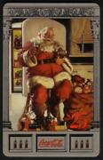 Coke National And03996 25. Complete Set Of 10 Different Cards Silver Phone Card