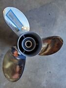 Re-conditioned 13 1/2 X 17p Yamaha Pro Series Ss Propeller 17-k 4.25 P4465