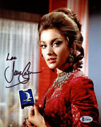 Jane Seymour Signed 8x10 Photo Solitaire Live And Let Die James Bond Beckett Bas