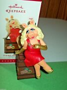 Hallmark It Is Moi Miss Piggy On Trunk Muppets 2015 Ornament Tested