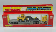 Majorette Super Movers Semi Ford Cl-9000 8 Diecast Scale Model Front End Loader