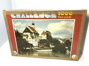 Vtg 1980s Whitman 3000 Piece Jigsaw Puzzle Fussen And The River Lech West Germany