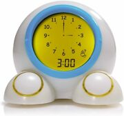 Teach Me Time Talking Alarm Clock And Night Light For Kids Manual And Digital Clock