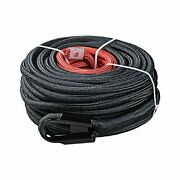 Synthetic Winch Rope Line Cable W/rock Heat Guard For Recovery Truck 4x4 Atv New
